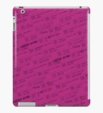 80s Soundtrack iPad Case/Skin