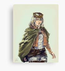 Historia Reiss Canvas Print