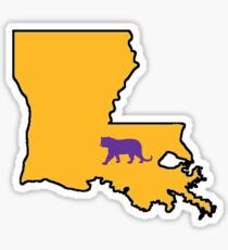 Baton Rouge Louisiana Tiger Sticker