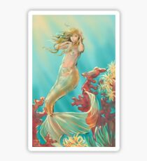 Mermaid Krista Sticker