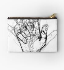 I'm an artist with hand problems  Studio Pouch