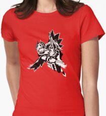 LoL - Quinn Black & White Women's Fitted T-Shirt
