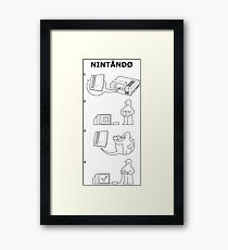 Blow to Play Framed Print