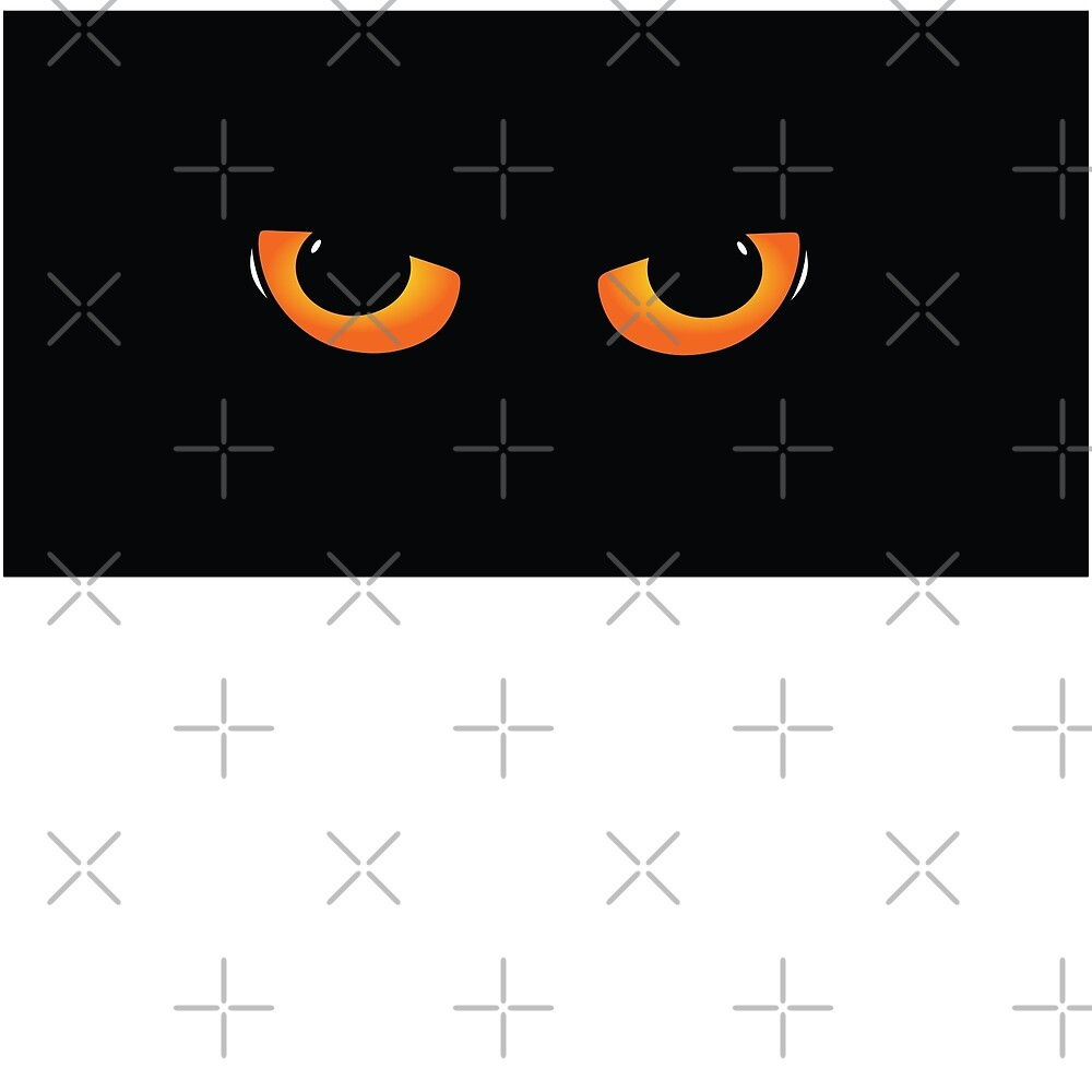 Quot Cats Eyes Halloween Or Just Creepy Stuff Quot By Cartoon