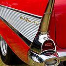 Chrome tail light - Chevrolet BelAir by Norman Repacholi