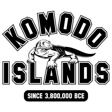 Komodo Islands Since 3800000 BCE Black by noroads