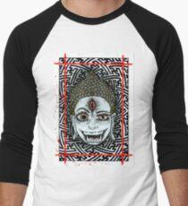 Third Eye Buddha Men's Baseball ¾ T-Shirt