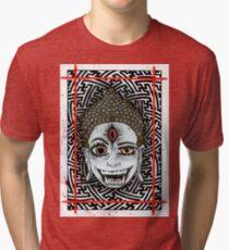 Third Eye Buddha Tri-blend T-Shirt