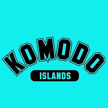 Komodo Islands Basic Varsity Black by noroads