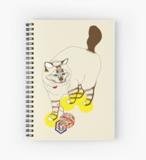 Eat . Play . Love Spiral Notebook