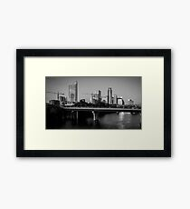 City of Austin is Under construction so many Cranes Framed Print