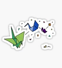 Oragami Transformation Sticker