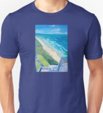 From Surfers Paradise the Gold Coast Queensland from High Surf Unisex T-Shirt