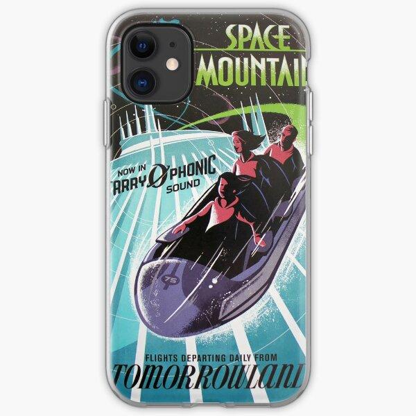 Space Mounain iPhone Soft Case