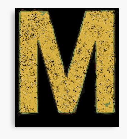 M is for Megatrip Canvas Print