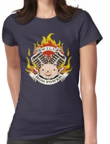 Hog Power Womens Fitted T-Shirt