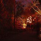Weihnachtslichter in Berlin von Cyberchamaeleon