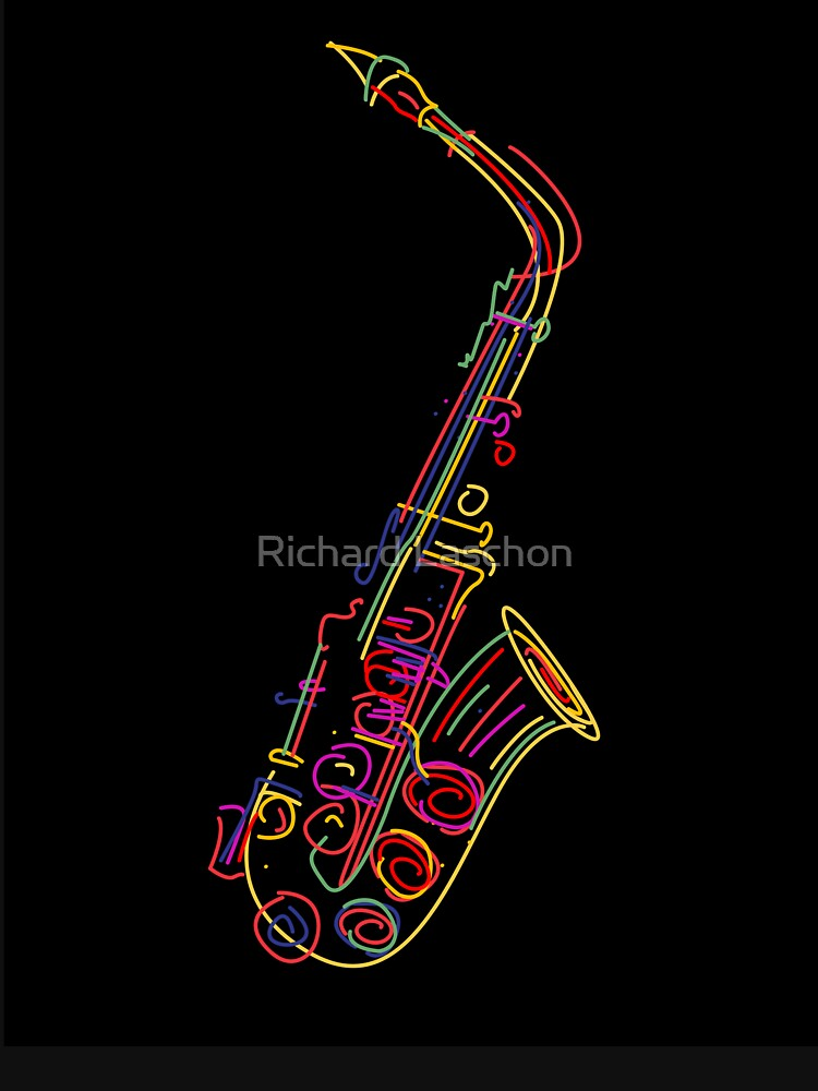 Saxophone | Long Sleeve