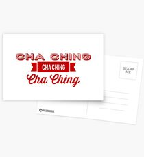 Cha Ching  Postcards