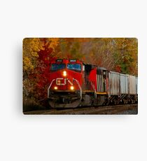 Uphill Freight Canvas Print