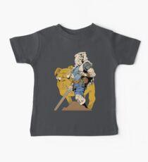 Adventurous Timing ~ Colored Heroes Baby Tee