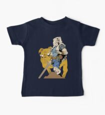 Adventurous Timing ~ Colored Heroes Baby Tee