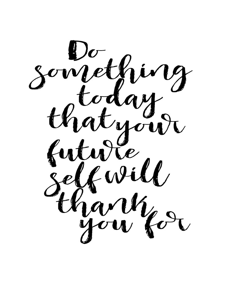 inspirational quote do something today dorm room decor graduation