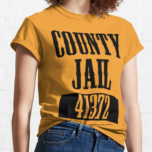 County Jail Halloween Costume Classic T-Shirt