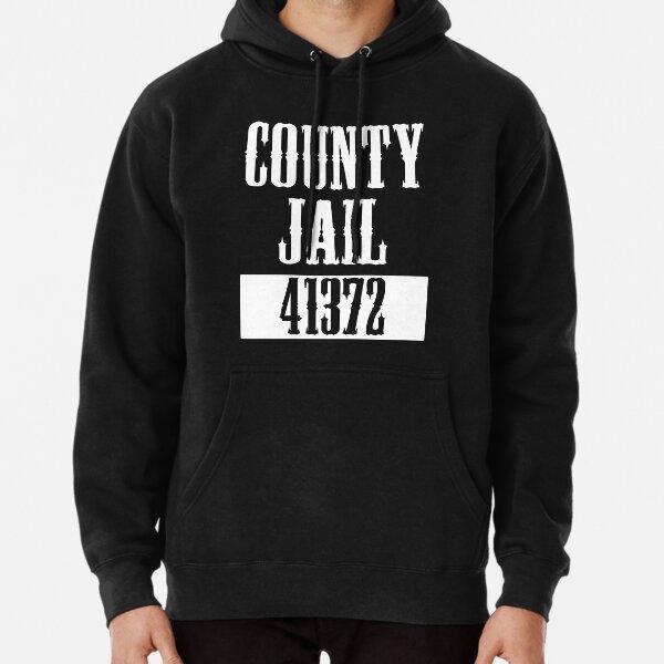 County Jail Halloween Costume Pullover Hoodie