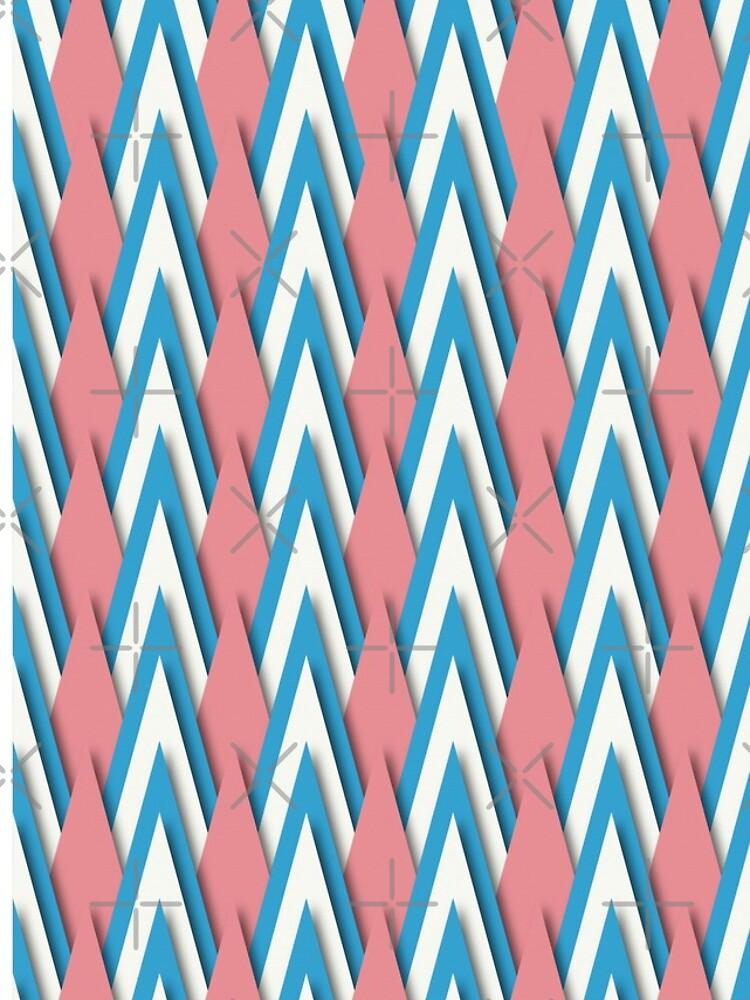 Pastel Triangles by Millusti