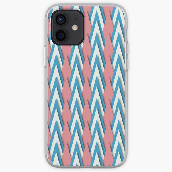 Pastel Triangles iPhone Soft Case