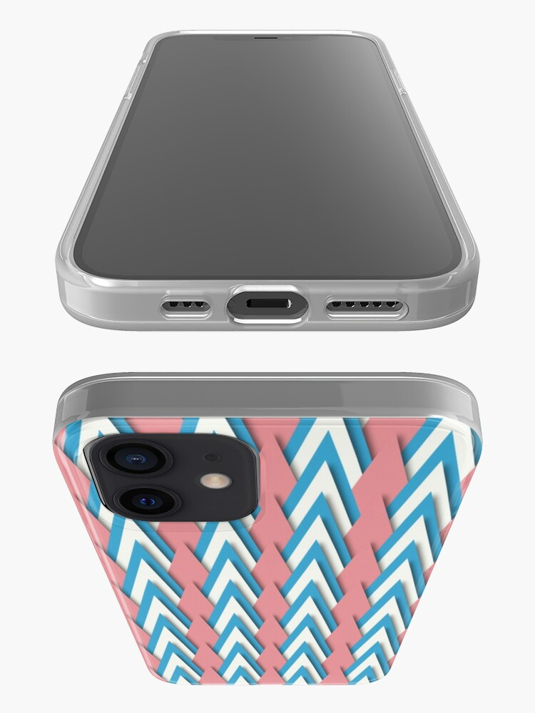 Alternate view of Pastel Triangles iPhone Case & Cover