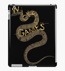 Wicked Games iPad Case/Skin
