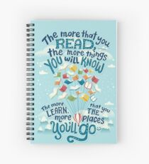 Go places Spiral Notebook