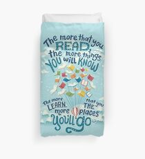 Go places Duvet Cover