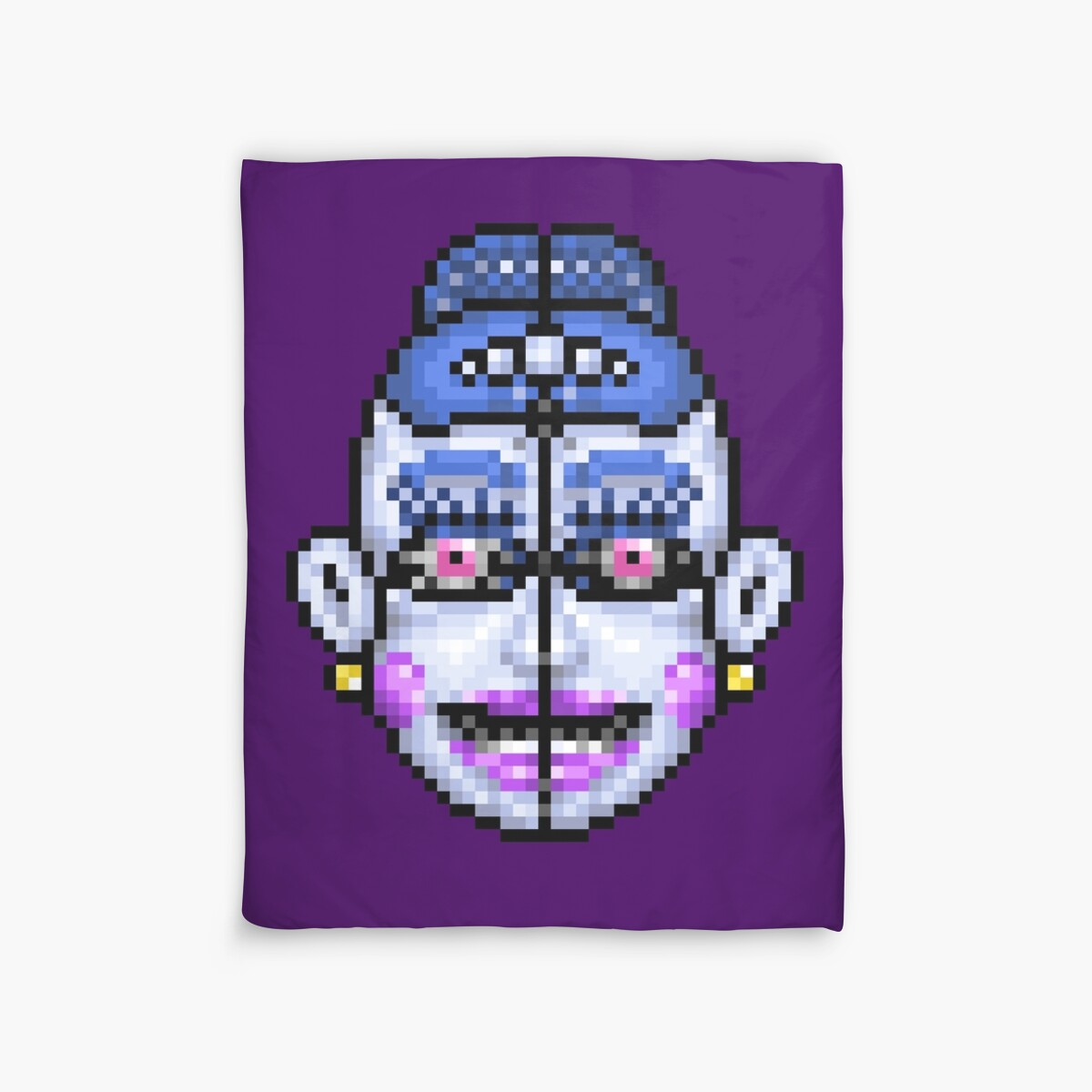 Quot Ballora Fnaf Sister Location Pixel Art Quot Duvet Covers