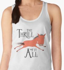 The Thrill of it All Horse Women's Tank Top