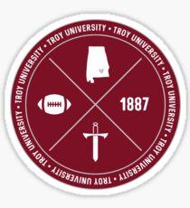 Troy University - Style 12 Sticker