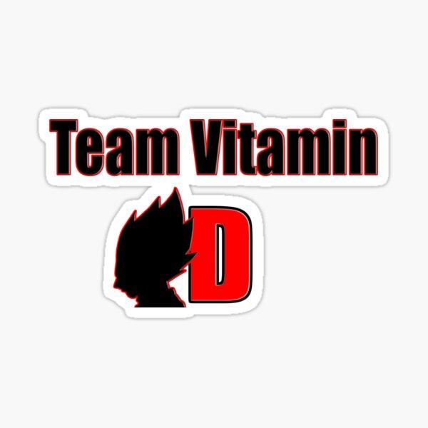 Team Vitamin D Sticker