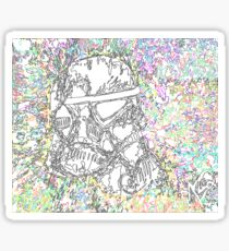 One Trooper Sticker