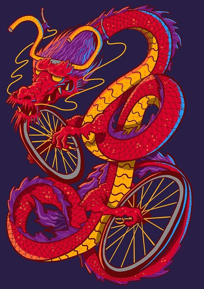 Drache Fahrrad\
