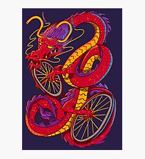 Dragon Bike Photographic Print