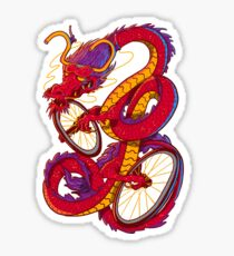Dragon Bike Sticker