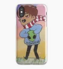 first snow fall iPhone Case/Skin