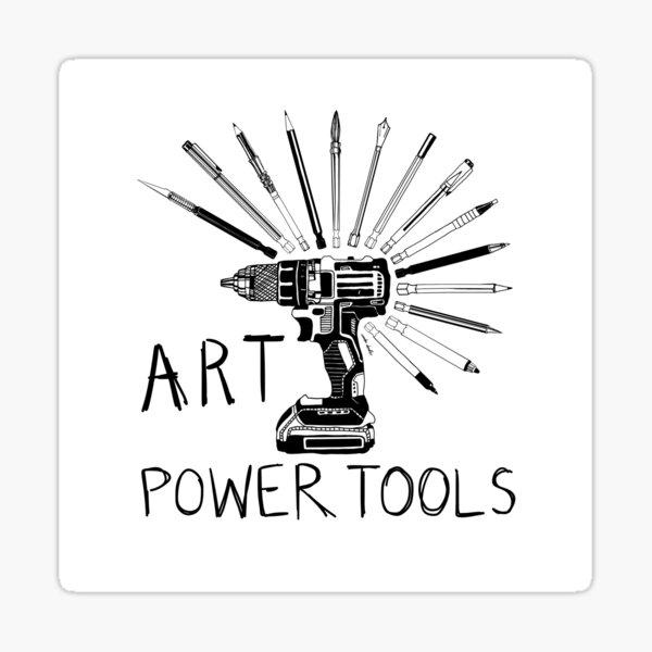 Art Power Tools Sticker