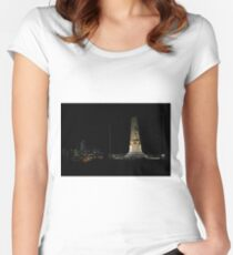 Lunar Eclipse - Perth, Western Australia Women's Fitted Scoop T-Shirt