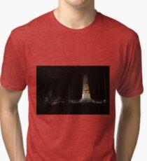 Lunar Eclipse - Perth, Western Australia Tri-blend T-Shirt