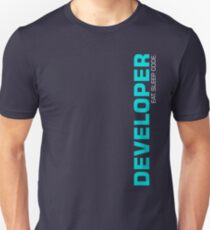 Eat Sleep Code Repeat Developer Programmer Slim Fit T-Shirt
