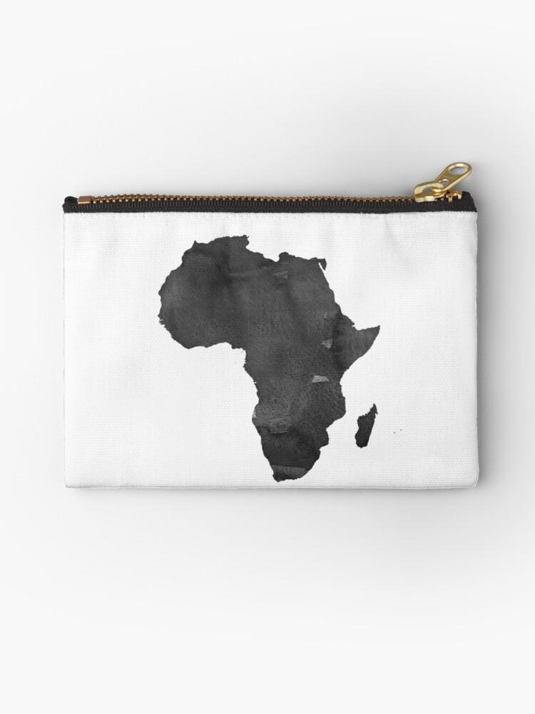Bolsos de mano «Mapa de África Imprimir África Mapa África Arte de ...