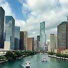 Chicago river by Maryna Gumenyuk